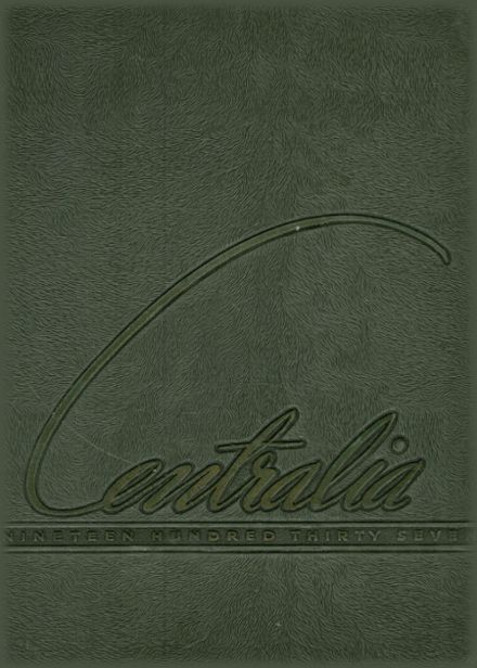 1937 Bay City Central High School Yearbook Cover