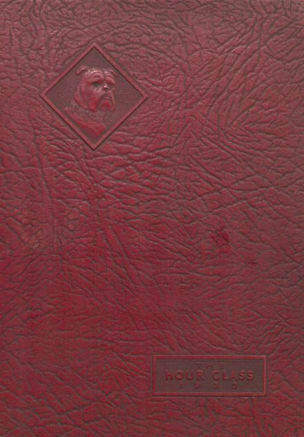1933 Anniston High School Yearbook Cover