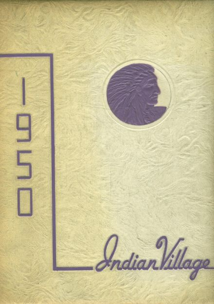 1950 Upper Sandusky High School Yearbook Cover