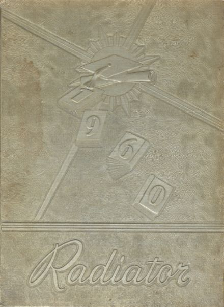 1960 Gainesville High School Yearbook Cover