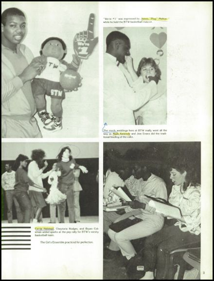 1986 Booker T. Washington High School Yearbook Page 7
