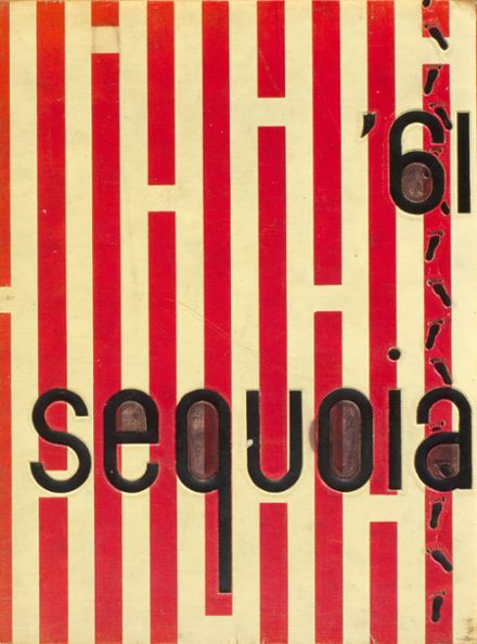 1961 Eureka High School Yearbook Cover