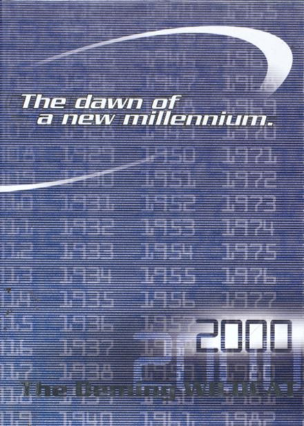 2000 Deming High School Yearbook Cover