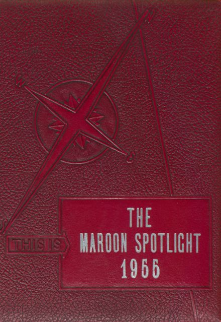 1955 Perry High School Yearbook Cover