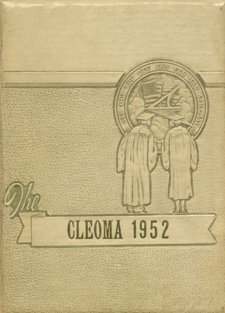 1952 Cleveland High School Yearbook Cover