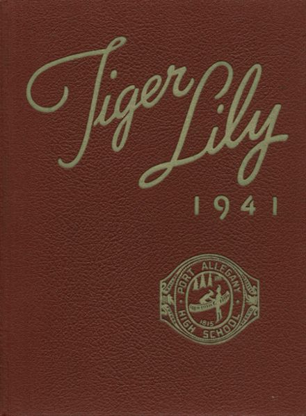 1941 Port Allegany High School Yearbook Cover