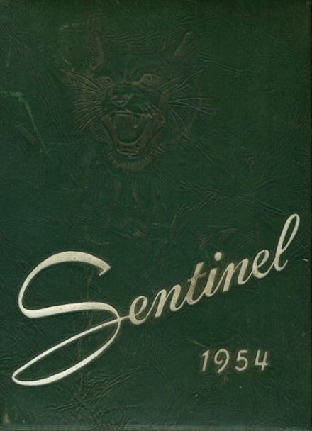1954 Griswold High School Yearbook Cover