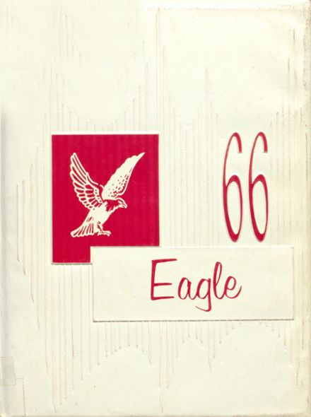 1966 Coldspring High School Yearbook Cover