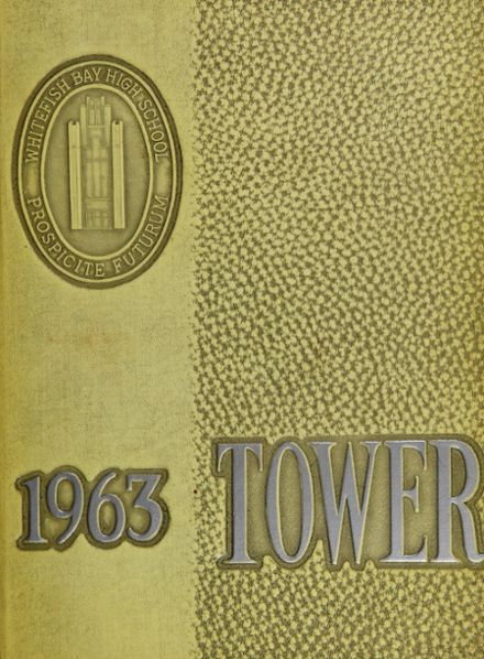 1963 Whitefish Bay High School Yearbook Cover