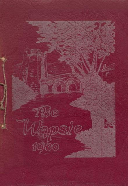 1930 Independence Christian High School Yearbook Cover