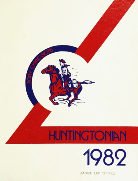 1982 Huntington High School Yearbook Cover