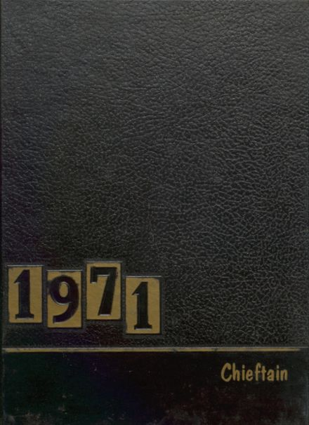 1971 Cohocton Central High School Yearbook Cover