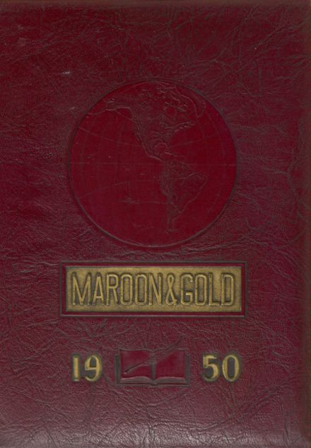 1950 Jonestown High School Yearbook Cover