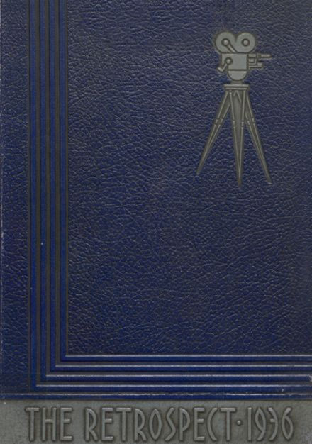 1936 Blume High School Yearbook Cover