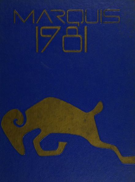 1981 Lafayette High School Yearbook Cover