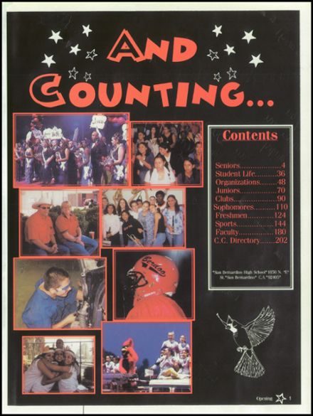 2003 San Bernardino High School Yearbook Page 5