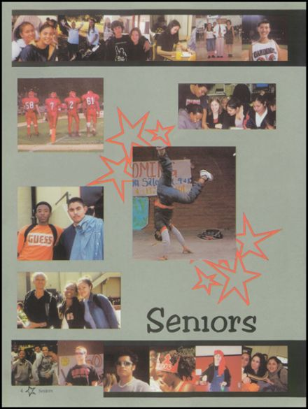 2003 San Bernardino High School Yearbook Page 8