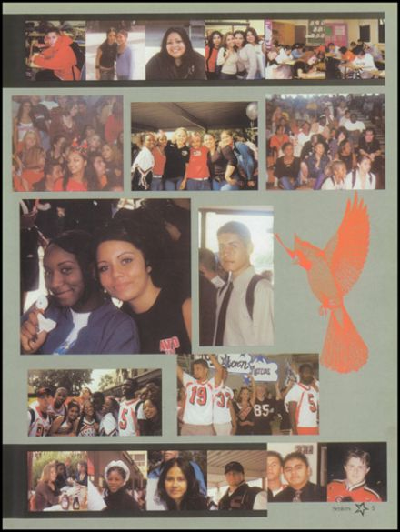 2003 San Bernardino High School Yearbook Page 9