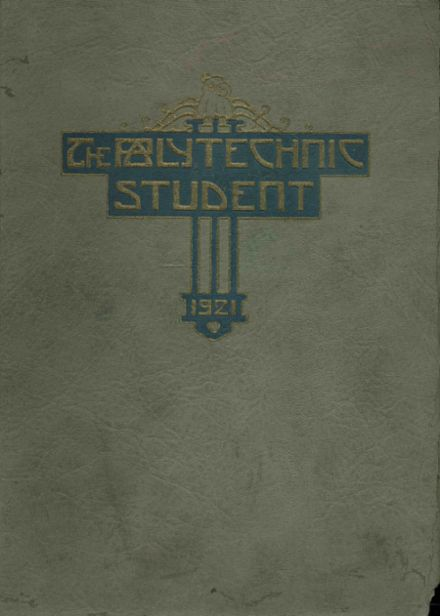 1921 Long Beach Polytechnic High School Yearbook Cover