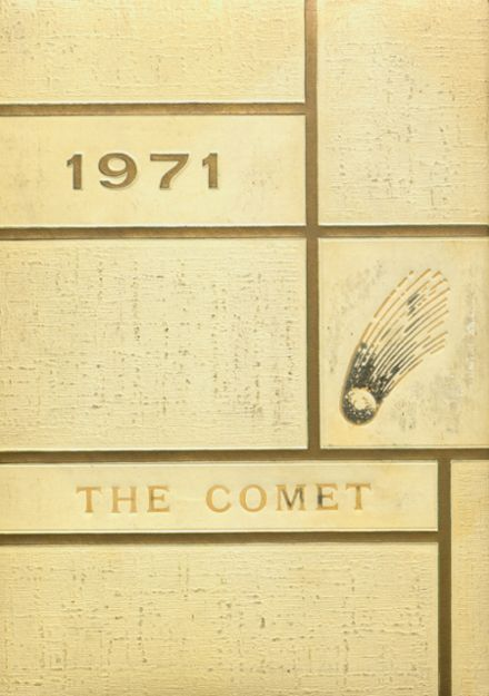 1971 Carlisle County High School Yearbook Cover