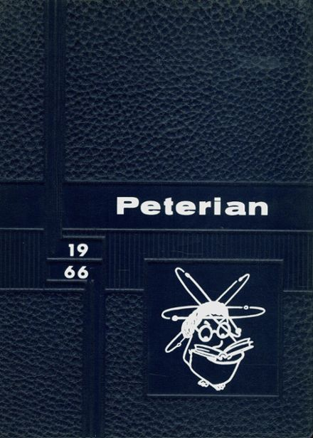 1966 St. Peter High School Yearbook Cover