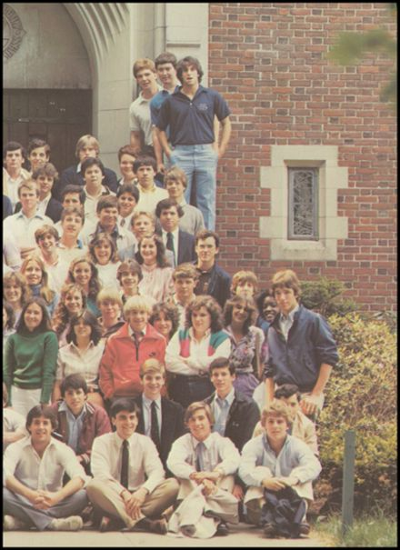1983 Thayer Academy Yearbook Page 3