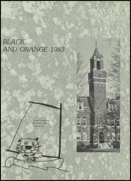 1983 Thayer Academy Yearbook Page 5