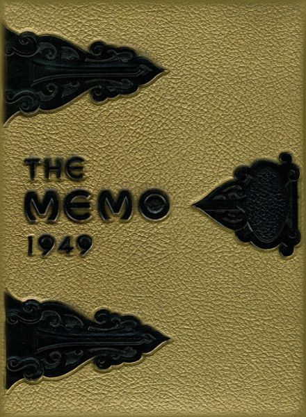 1949 St. Marys Catholic High School Yearbook Cover