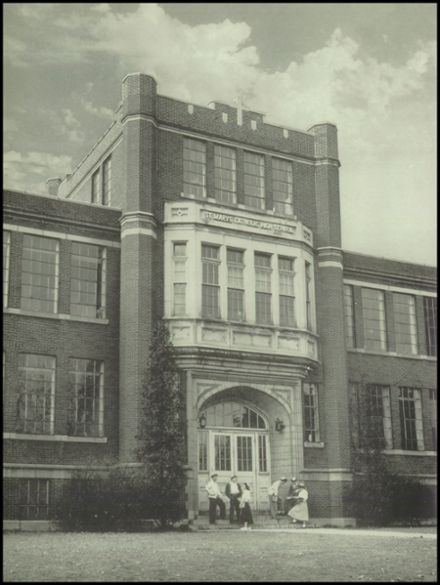 1949 St. Marys Catholic High School Yearbook Page 8