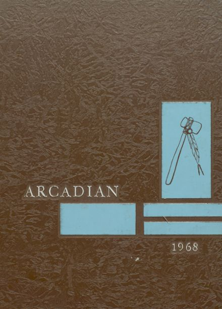 1968 Arcadia High School Yearbook Cover