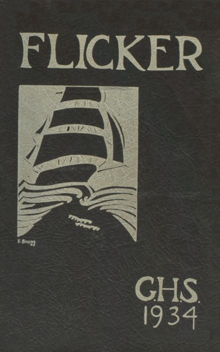 1934 Gloucester High School Yearbook Cover