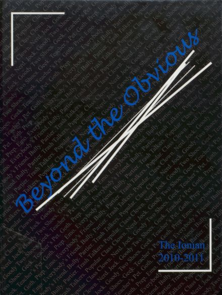 2011 Ionia High School Yearbook Cover