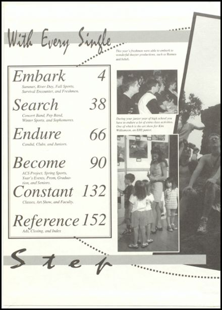 1998 Eureka High School Yearbook Page 2