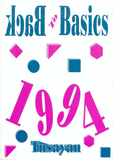 1994 Williams High School Yearbook Cover