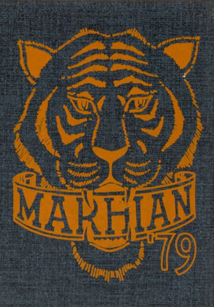 1979 Marshall High School Yearbook Cover