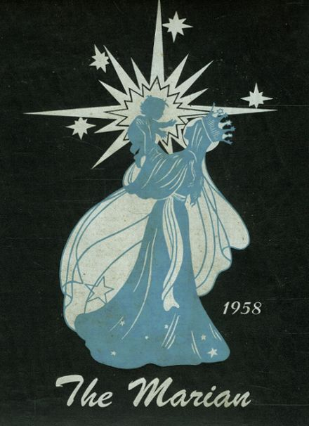1958 St. Mary's-Colgan High School Yearbook Cover
