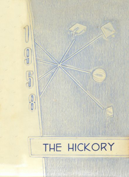 1958 Ambia High School Yearbook Cover