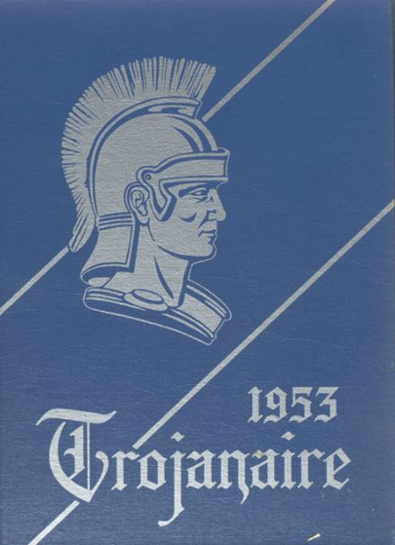 1953 Lakeville High School Yearbook Cover