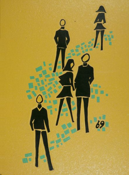 1969 Castro Valley High School Yearbook Cover