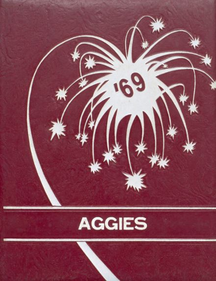1969 Bruno-Pyatt High School Yearbook Cover
