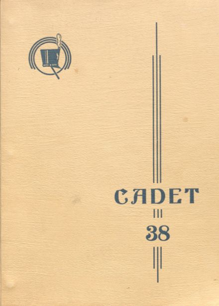 1938 West Point High School Yearbook Cover