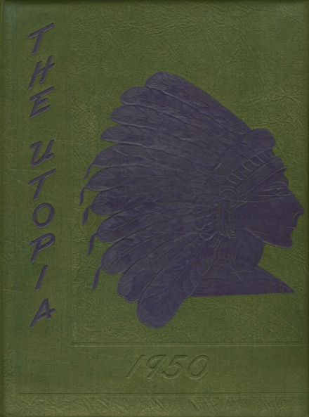 1950 Cayuga High School Yearbook Cover