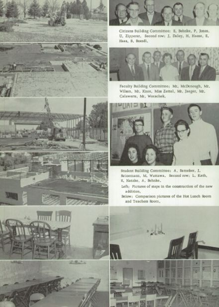 1958 Reedsville High School Yearbook Page 6