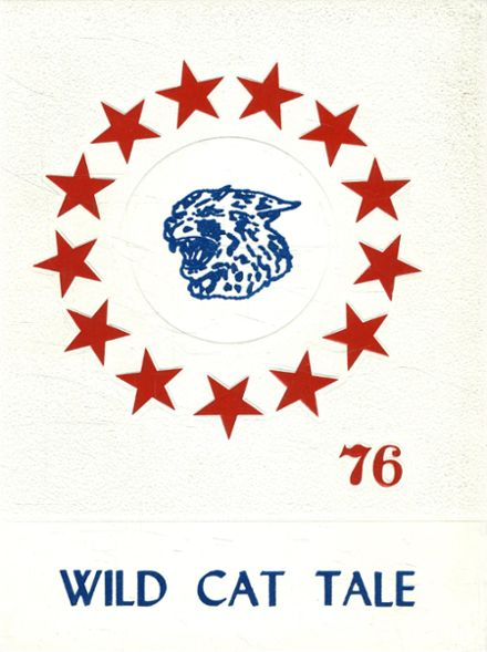 1976 Homer-Center High School Yearbook Cover