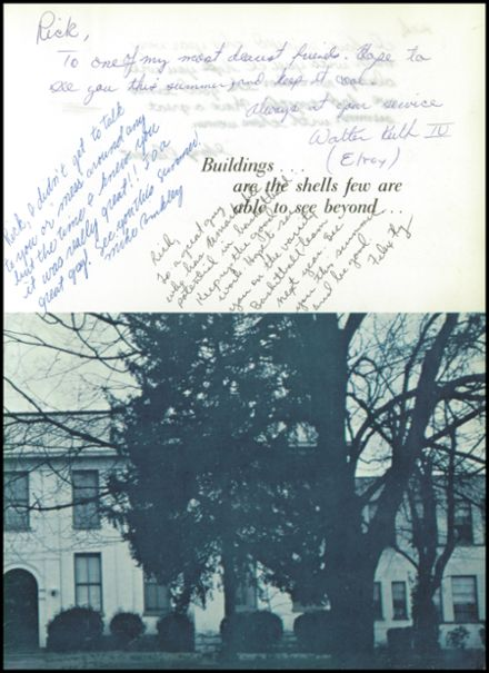 1967 Battle Ground Academy Yearbook Page 7