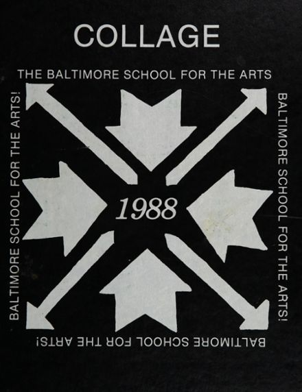 1988 Baltimore School for the Arts 415 Yearbook Page 1