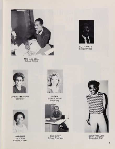1988 Baltimore School for the Arts 415 Yearbook Page 9