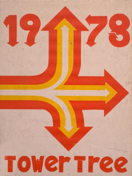 1978 Greensburg High School Yearbook Cover