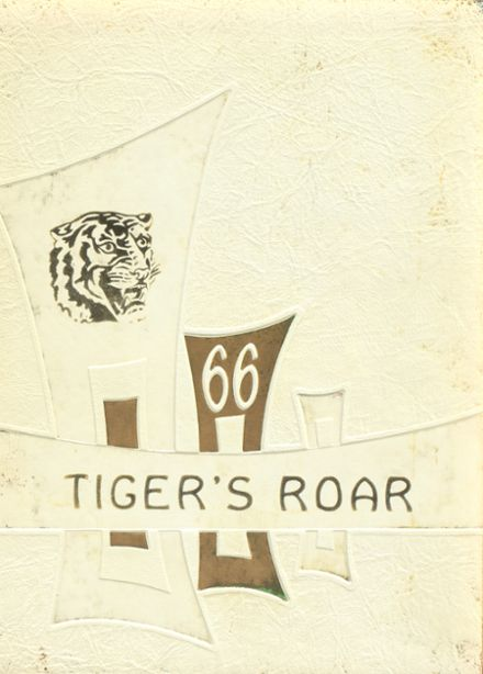 1966 Grant High School Yearbook Cover