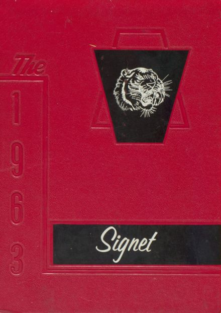 1963 Dexter High School Yearbook Cover